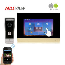 "1.0MP 720P AHD HD IP SIP 7"" Record Touch Screen Video Intercom Door Phone System"