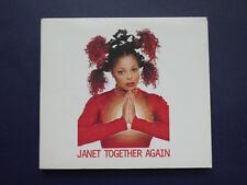 Janet Jackson Together again 6 mix 1997 digipack CD single