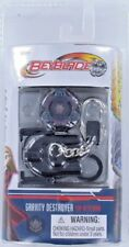 Beyblades GRAVITY DESTROYER Top Keychain Keyring w/ Launcher Ripcord S6 1943 New