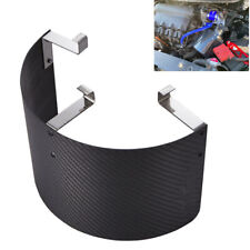 Universal carbon fiber Style Air Intake Short ram Corn Filter Heat Shield Cover
