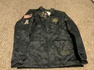 2020 Nike NFL Pittsburgh Steelers Salute to Service Jacket Men's Size: Medium