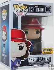 Hot Topic Exclusive Agent Carter Funko Pop! Vinyl Bobble-Head #102 Free Shipping