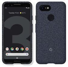 Genuine Official Google Pixel 3 Fabric Case Cover GA00488 - Indigo