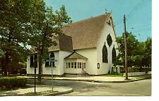 Episcopal Church Building-Cape May-New Jersey-Vintage Postcard
