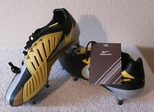 NWT Nike T90 Laser IV KL-SG Mens Soccer Cleats 6 Black/Yellow MSRP$220