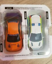 Scalextric ford focus police car and Subura WRX set LIKE NEW