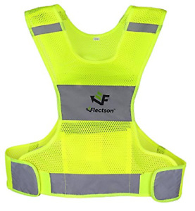 Reflective Vest for Running or Cycling Women and Men, with Pocket, Gear for