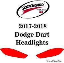3M Scotchgard Paint Protection Film Clear Bra Pre-Cut Kit 2017 2018 Dodge Dart