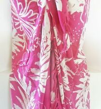 Cotton Floral Cover-Up Swimwear for Women