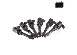 Fuelmiser Ignition Coil (6 Pack) CC353/6 fits Ford Territory 4.0 (SX,SY), 4.0...