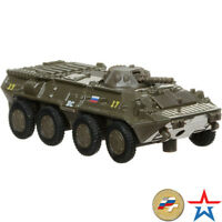 BTR-80 Diecast Metal Model Russian Armored Personnel Carrier Toy Die-cast