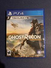 Tom Clancy's Ghost Recon Wildlands PS4 w/ Case
