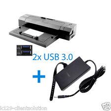 Dell E-Port Réplicateur PR02X avec 130W Bloc D'Alimentation 2x USB 3.0, E-Port