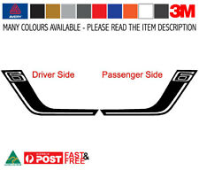 ESM 6 Rear Bar Decal Stripe Sticker Kit to fit FGX Falcon Sedan - Avery Wrap