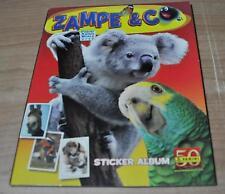 ALBUM VUOTO:ZAMPE & CO PANINI 2010-11 NUOVO DA EDICOLA CON LE 6 FIGURINE OMAGGIO