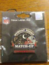 New England Patriots VS Atlanta Falcons Game Day Pin October 22, 2017 SNF NEW