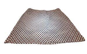 IZOD Golf Classic Women's Skort Skirt Golf Tennis Brown Beige Tan Teal  size 2
