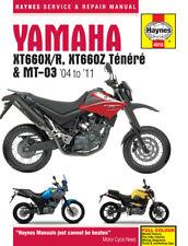 Haynes Manual 4910 - Yamaha XT660Z Tenere, XT660R, XT660X, MT03 service & repair