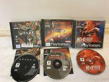 Playstation 1 3 game bundle quake 2, star trek, k1 grand prix PS1