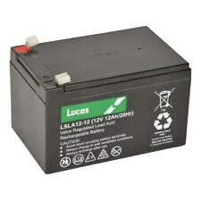 LUCAS 12V 12AH I Lucas 12 VOLT 12 Amp Hour Sealed Rechargeable Lead Acid Battery