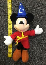 Applause Disney Sorcerer Mickey Mouse Plush Toy 11 Inches Used with Tush Tag