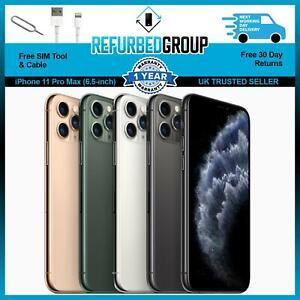 Apple iPhone 11 Pro Max 64GB 256GB 512GB Unlocked Smartphone All Colours
