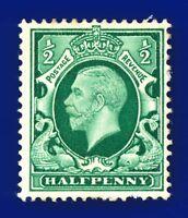 1934 SG439 ½d Green N47(1) Good Used batv