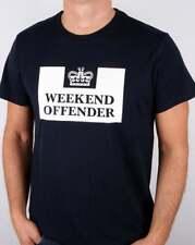 Weekend Offender Mens Prison Tee T-shirt in Navy Blue XL