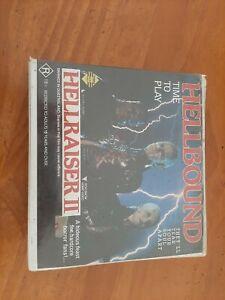 Hellraiser-Hellraiser 2 Hellbound -Vhs -Twin Pack -Horror  -Rare