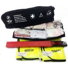 BMW & MINI ORIGINAL EMERGENCIA VIAJE BOLSO KIT con de primeros auxilios