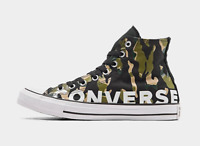 Men's Converse Chuck Taylor All Star Flames High Top Casual Shoes Size US 10