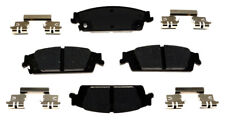 Disc Brake Pad Set-Ceramic Disc Brake Pad Rear ACDelco Pro Brakes 17D1707CH