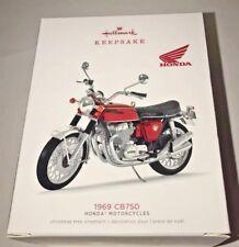 Hallmark 2018 Honda Motorcycle 1969 CB750 Ornament.