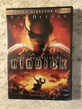 The Chronicles Of ( Riddick ) Vin Diesel : New : Sealed : Not Rated ( Dvd ).