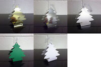 Christmas Tree Favour Box Xmas Tree Decoration - Choose Quantity - Choose Colour