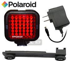 POLAROID Video Light 36 LED IR NIGHT VISION VIDEO CAMERA CAMCORDER LIGHT NEW