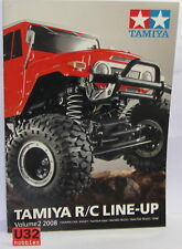 Tamiya Catalogue R/C Line Up Edition 2008 English Neuf 34 Pages