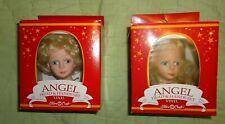 Fibre Craft*Vinyl Angel Head & Hands Set*Blonde*Short or Long Hair*CHOOSE