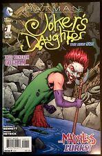 BATMAN JOKER'S DAUGHTER # 1 DC COMICS THE NEW 52 UNREAD NM SOLD OUT