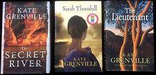 Kate Grenville Trilogy Secret River Hawkesbury Sarah Thornhill Lieutenant HC DJ