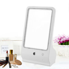 16 Led Touch Screen Adjustable Tabletop Lighted Cosmetic Vanity Makeup Mirror Bp