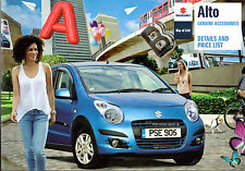 Suzuki Alto Accessories 2010 UK Market Sales Brochure