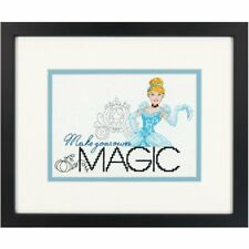 Dimensions Counted Cross Stitch Kit - Disney Make Your Own Magic Cinderella