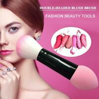 Techniques Double Makeup Brushes Sculpting Powder Blush Foundation Sponge Puff