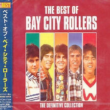BAY CITY ROLLERS - THE DEFINITIVE COLLECTION NEW CD JAPAN