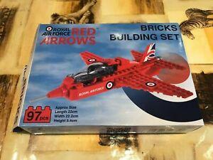 Red Arrow Building Brick Model Set