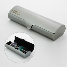 Gray Slim Matte Hard Metal Spectacles Reading Glasses Protection Eyeglasses Case