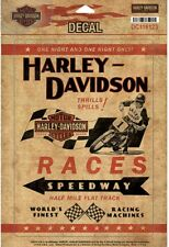 Harley-Davidson® Half Mile Motorcycle Races Decal + United We Roll Decal - NEW