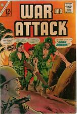 War and Attack #54  Charlton Comics 1966