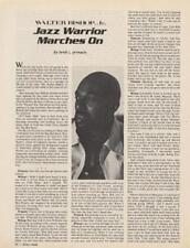 Walter Bishop Jr. Downbeat Clipping